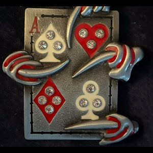 Beautiful Ace with Bling Belt buckle